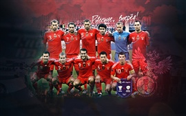 Preview wallpaper Russian football team RFU