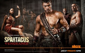 Preview wallpaper Spartacus: Vengeance