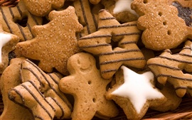 Preview wallpaper Star shape cookies