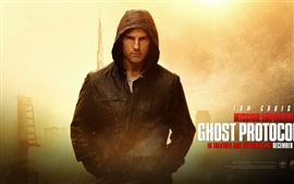 Tom Cruise en Misión Imposible - Ghost Protocol