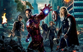 Preview wallpaper 2012 The Avengers movie HD