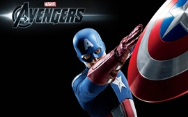 Preview wallpaper Captain America in The Avengers