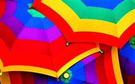 Preview wallpaper Colorful umbrellas