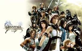 Dissidia 012: Final Fantasy de alta definición