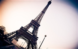 Preview wallpaper Eiffel Tower Paris France