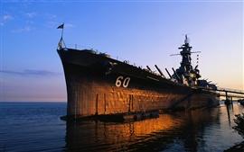 Military warship