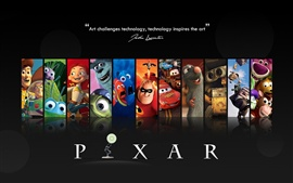 PIXAR cartoon movie star