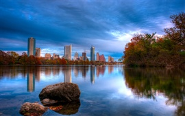 Preview wallpaper Austin Texas lake landscape