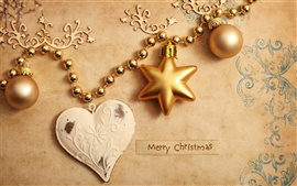 Preview wallpaper Christmas ornaments