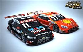 Aperçu fond d'écran Stock Car Jeu 2012