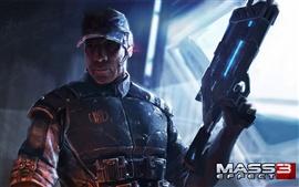 Aperçu fond d'écran Mass Effect 3 éventail