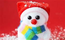 Preview wallpaper Snowman souvenir