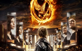 Preview wallpaper The Hunger Games 2012