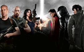 Preview wallpaper 2012 G.I. Joe: Retaliation movie