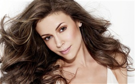 Preview wallpaper Alyssa Milano 03