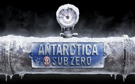 Preview wallpaper Antarctica subzero creative