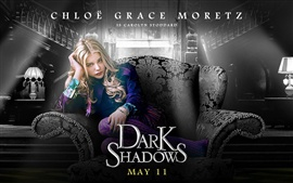 Preview wallpaper Chloe Moretz in Dark Shadows