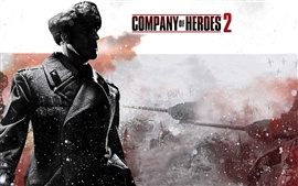 Preview wallpaper Company of Heroes 2 wide