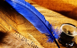 Preview wallpaper Feather pen
