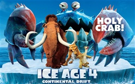 Preview wallpaper Ice Age 4: Continental Drift 2012