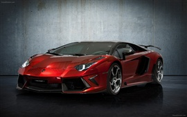 Preview wallpaper Mansory Lamborghini Aventador LP700-4 2012