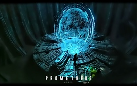 Preview wallpaper Prometheus ship