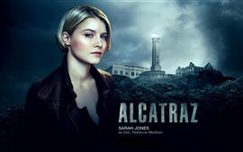 Sarah Jones in Alcatraz