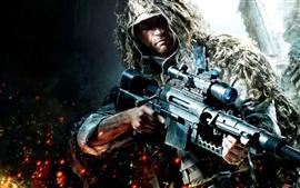 Guerreiro rifle jogo