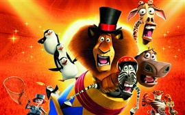 Preview wallpaper 2012 Madagascar 3: Europe's Most Wanted