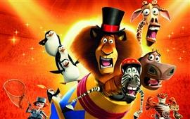 2012 Madagascar 3: La mayor parte de Europa buscan