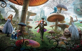 Aperçu fond d'écran Alice in Wonderland HD
