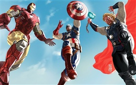 Preview wallpaper Art The Avengers