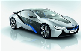 Preview wallpaper BMW i8 Concept car