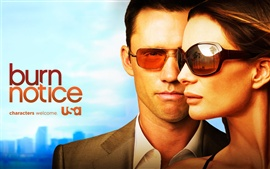 Preview wallpaper Burn Notice