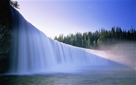 La belleza de Canadá, saltos de agua