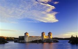 Замок в Финляндии