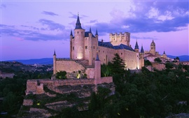 壁紙のプレビュー スペインの城
