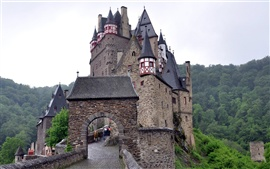 Castles in Germany, Burg Eltz Wallpapers Pictures Photos Images