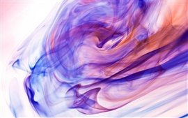 Preview wallpaper Colorful ink in water