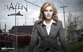 Preview wallpaper Emily Rose in Haven TV Series