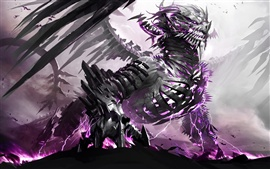 Preview wallpaper Ferocious dragon, creative images