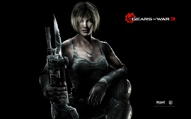 Preview wallpaper Gears of War 3 PC game wide