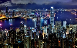 Preview wallpaper Hong Kong Night