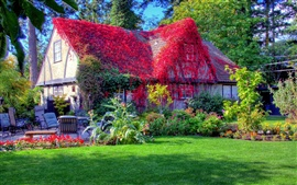 House in spring Wallpapers Pictures Photos Images