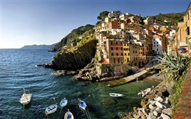 Preview wallpaper Italy Riomaggiore