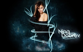 Preview wallpaper Nina Dobrev 05