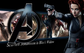 Scarlett Johansson is Black Widow, The Avengers