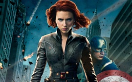 Preview wallpaper The Avengers 2012, Scarlett Johansson