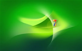 Preview wallpaper Windows 7 green space