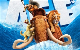 Preview wallpaper 2012 Ice Age 4 movie